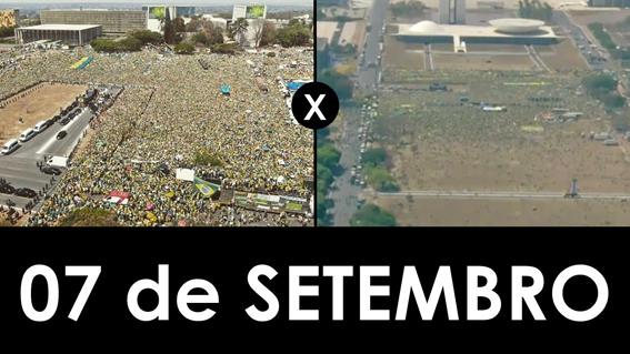 O que é e o que não e verdade sobre a manifestão do dia 7 de setembro.