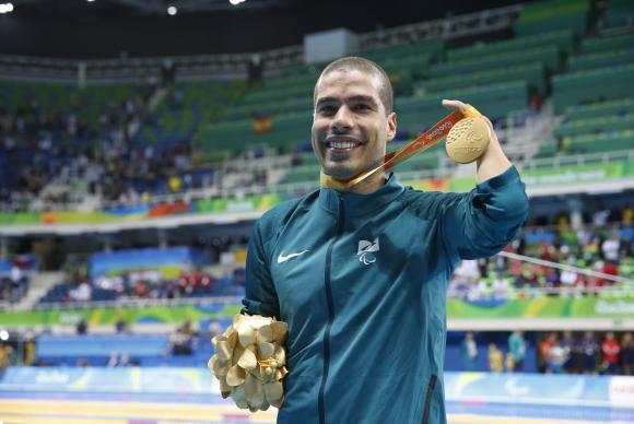 Ao todo, Daniel Dias participou de 4 Paralimpíadas.