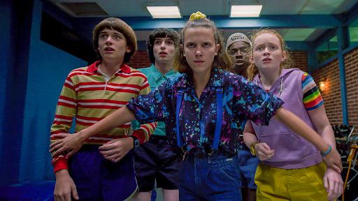 Stranger Things, um dos maiores sucessos da Netflix.