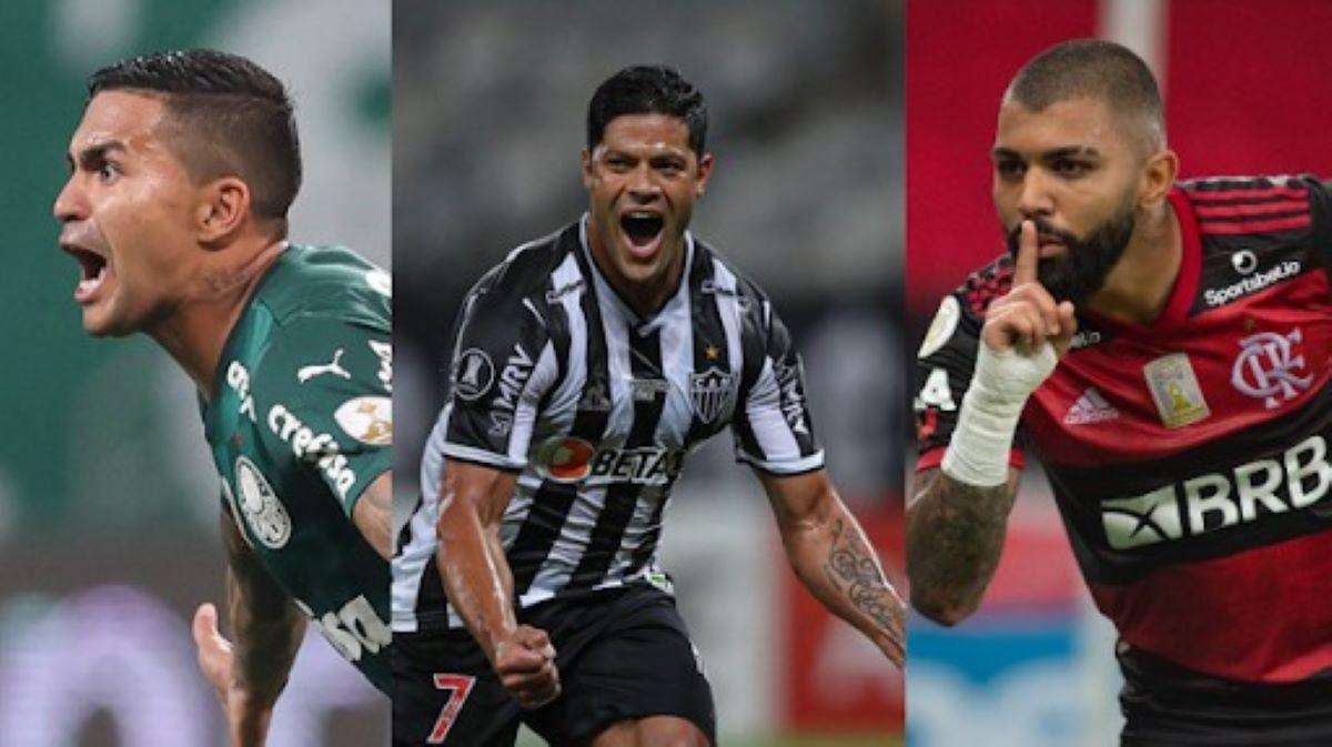 Palmeiras, Flamengo e Atlético Mineiro: quem chega melhor para o fim da Libertadores?