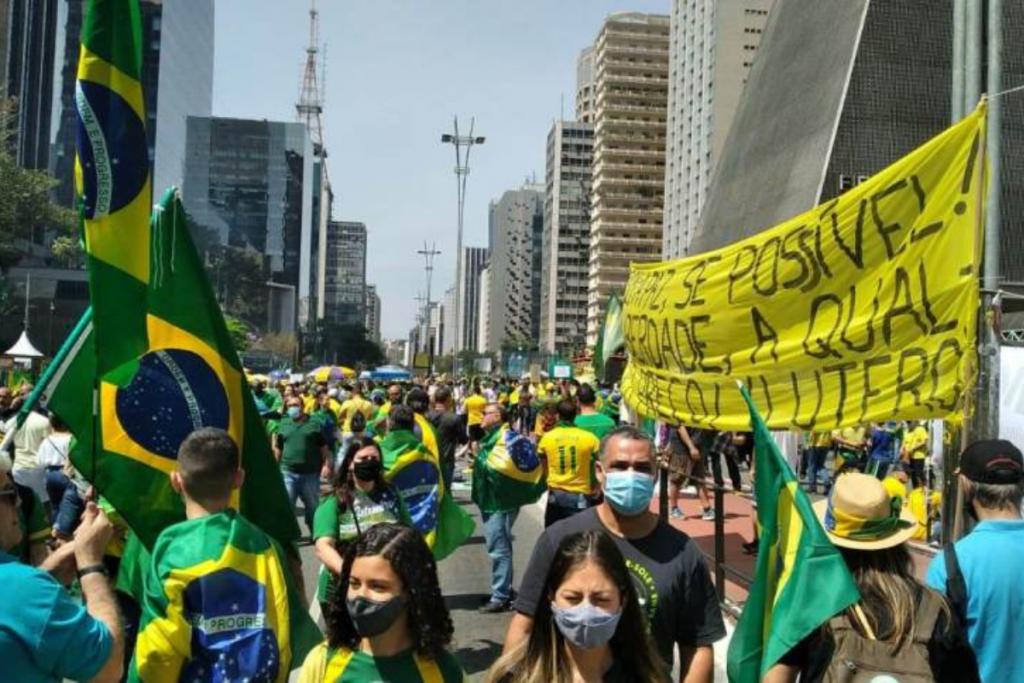 O dia 7 de Setembro, dia da Independência brasileira, foi marcado com atos antidemocráticos.