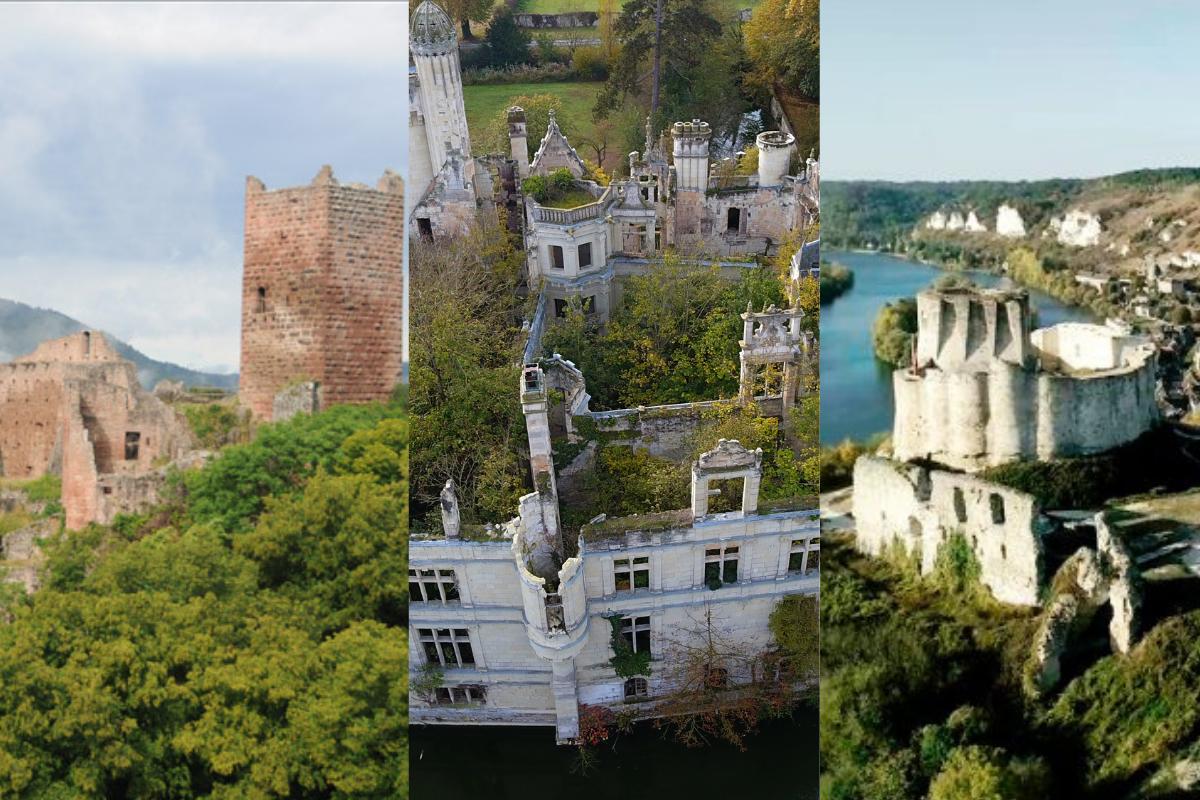 5 castelos abandonados na França para você conhecer