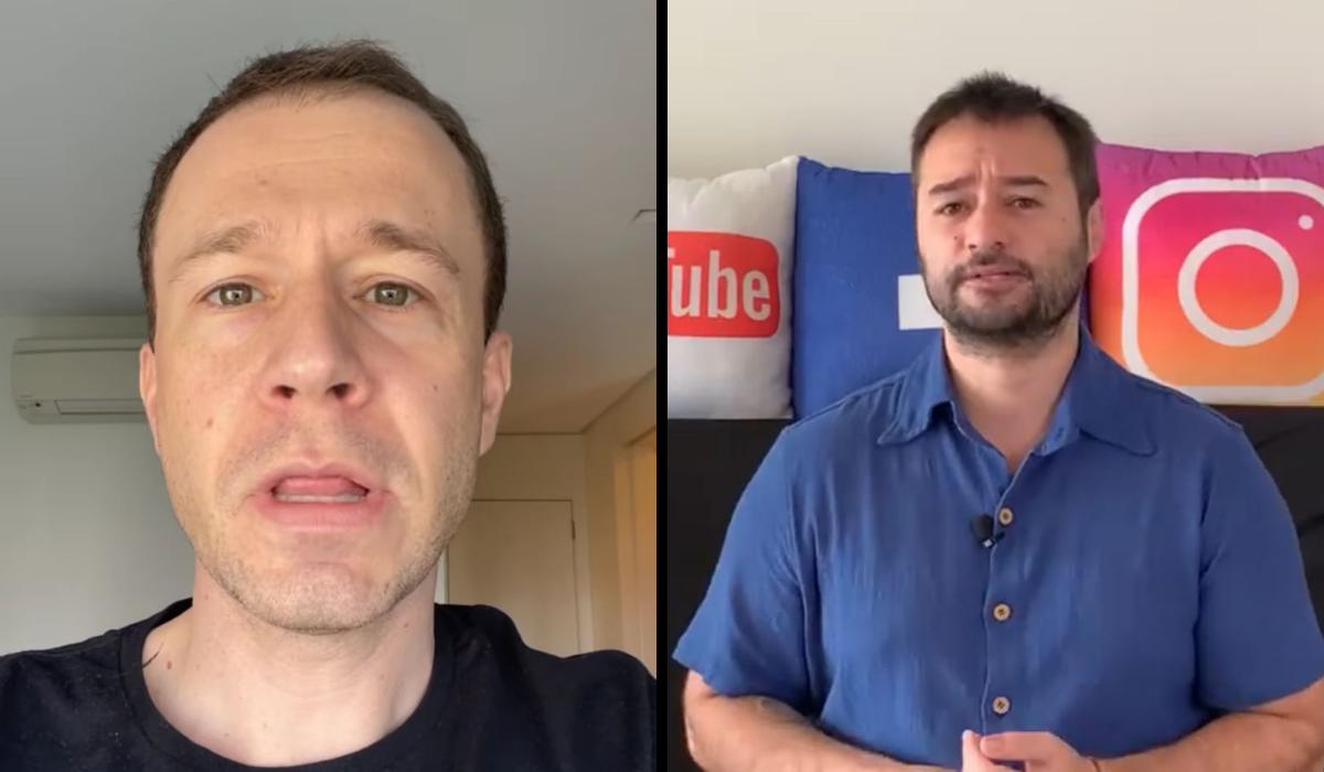 Tiago Leifert detona jornalista que o envolveu em suposta fake news