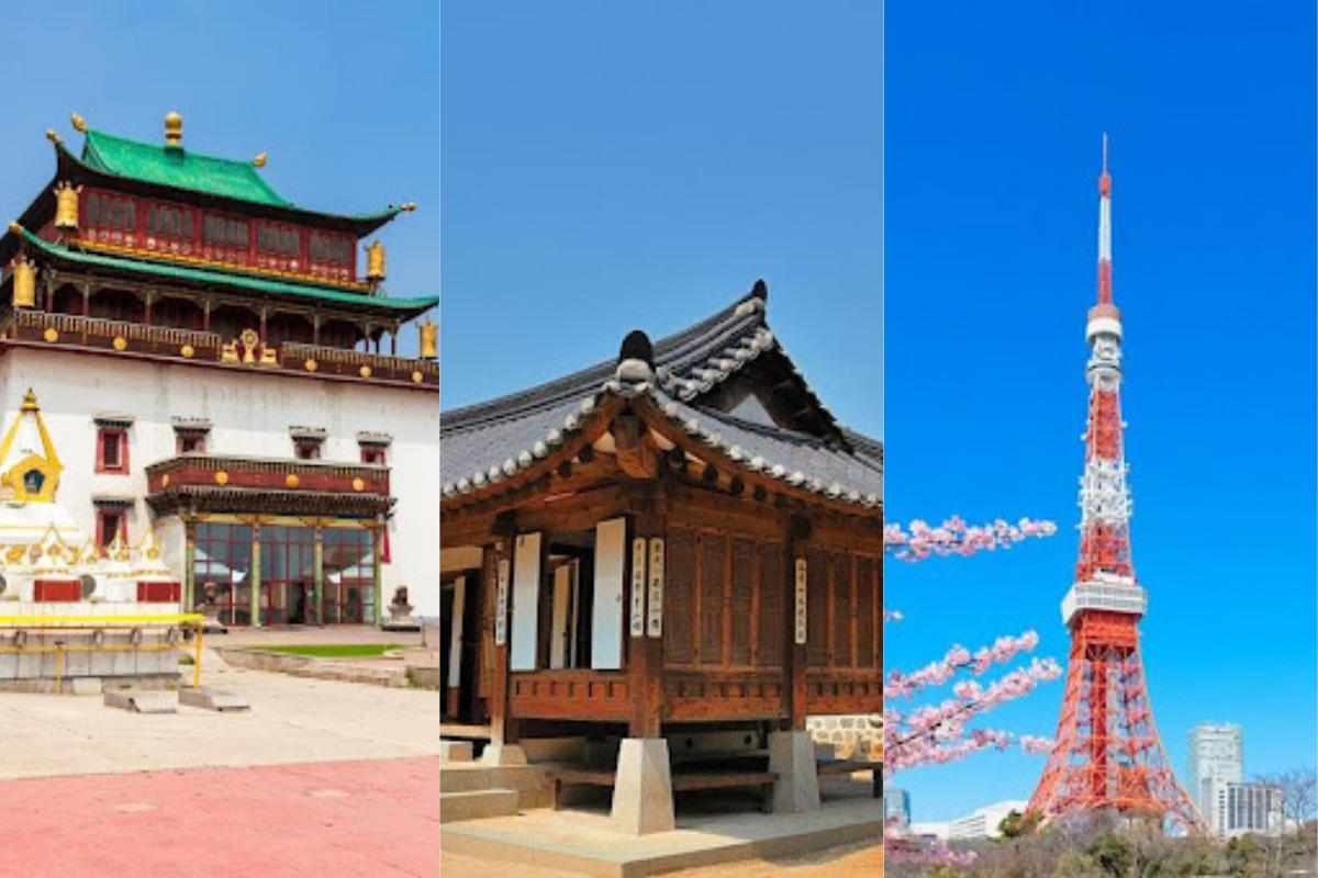 5 países do leste asiático para conhecer no continente
