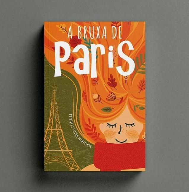 Capa do livro A bruxa de Paris.