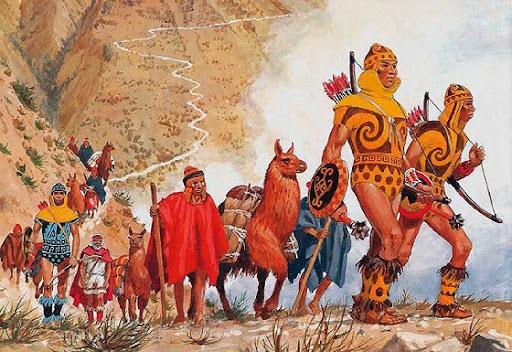 Não se sabe ao certo quantas pessoas habitavam as cidades incas.