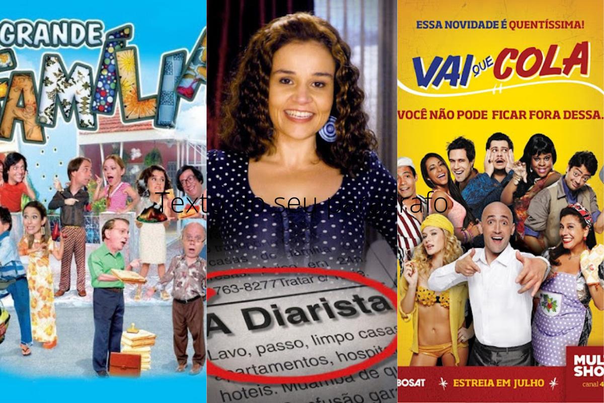 Conheça as 5 maiores e melhores sitcoms brasileiras