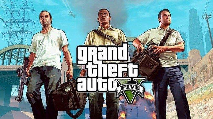 Chame os amigos e curta o mundo online de GTA V, um dos melhores jogos em terceira pessoa.