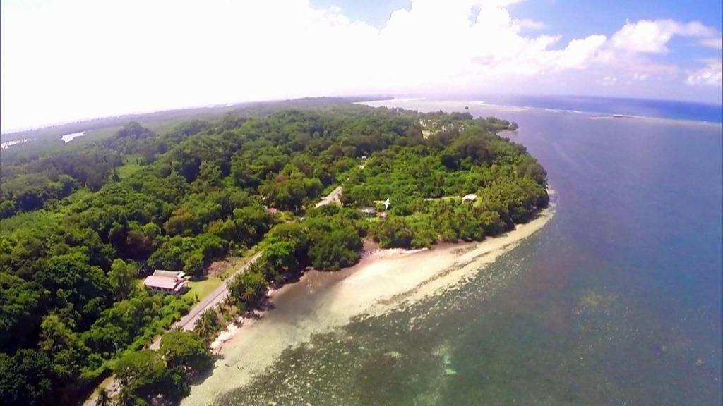 Além de uma paisagem linda, a Ilha de Peleliu, no Palau, é um centro histórico.