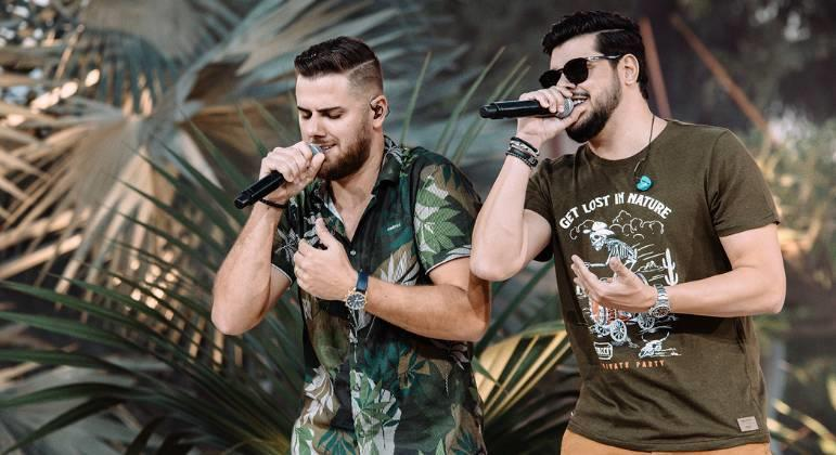 "Zé Neto e Cristiano lançam EP ""Chaaama""."