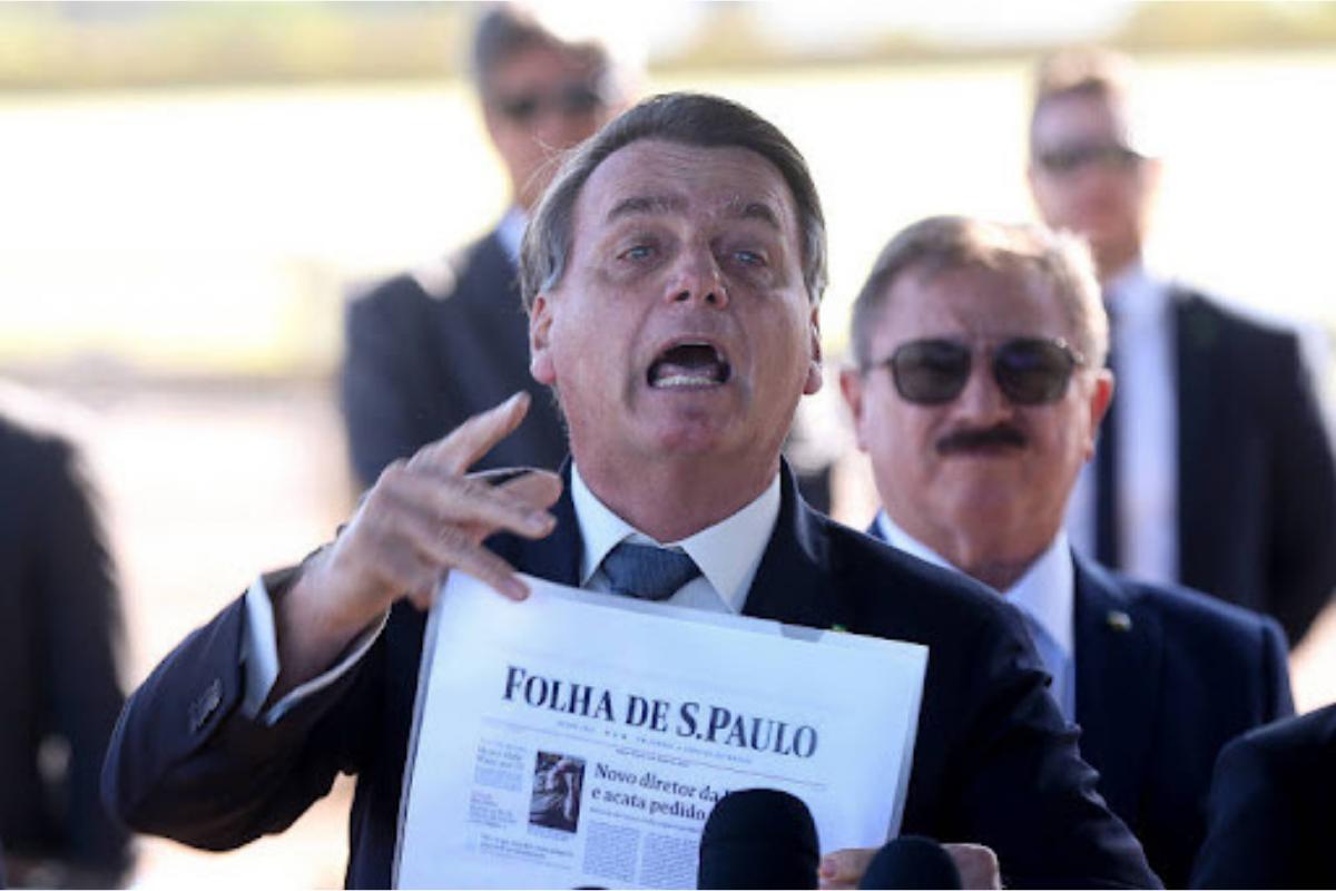 Opinião: A imprensa descredibilizada por Bolsonaro