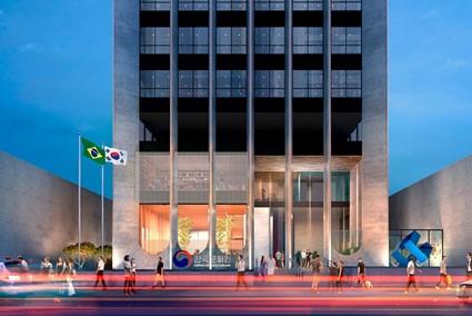 O Centro Cultura Coreano em São Paulo é responsável por festas e outros eventos.