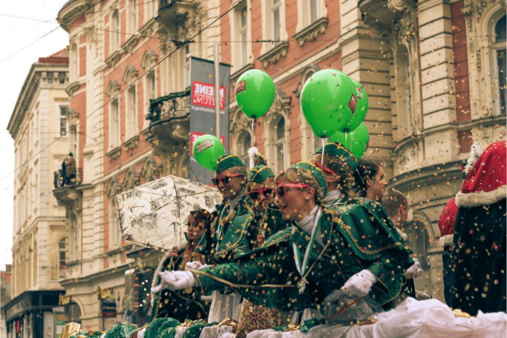Assim como no Brasil, o Carnaval na Áustria é um momento de diversão.