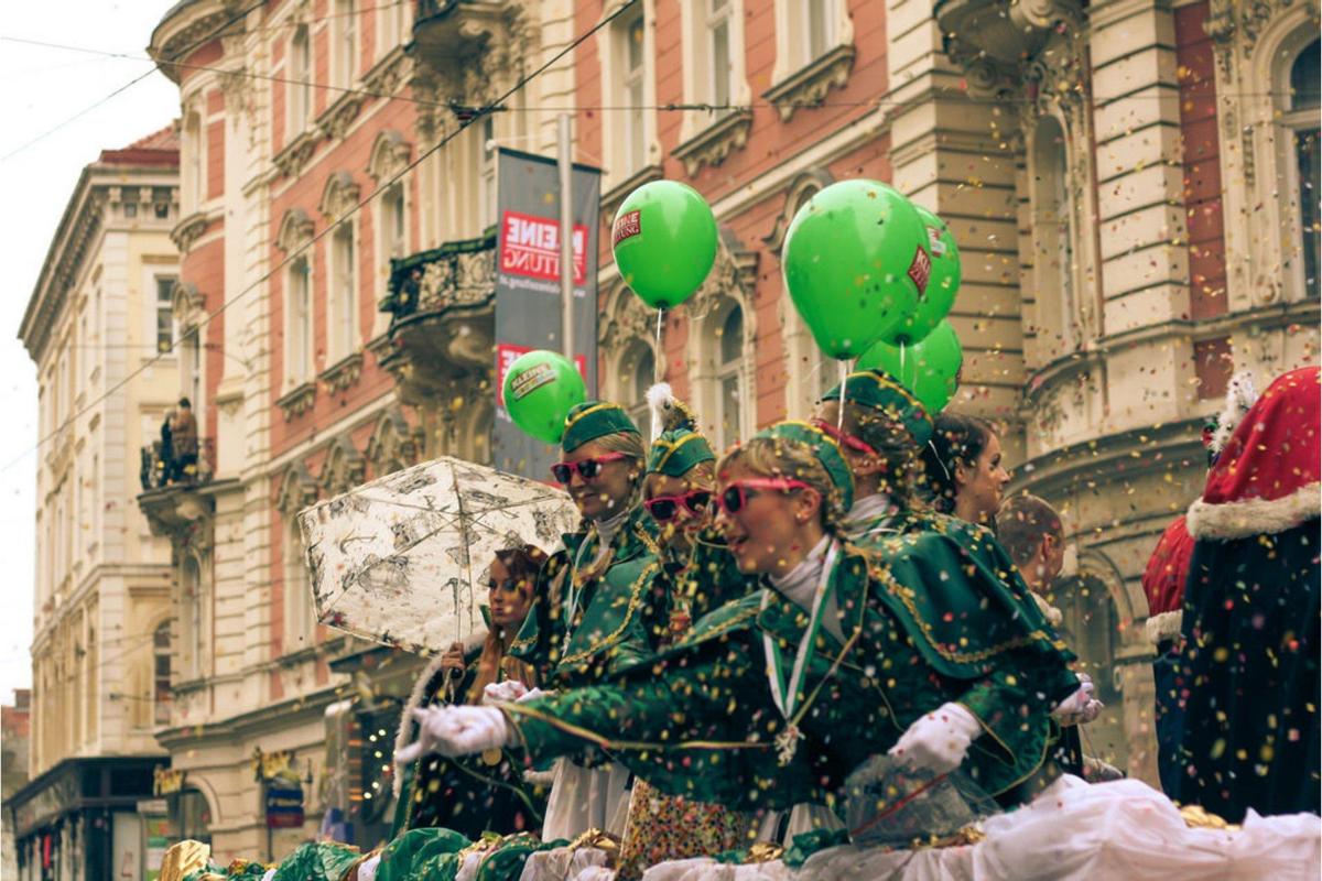 Você sabia que na Áustria também é comemorado o carnaval?