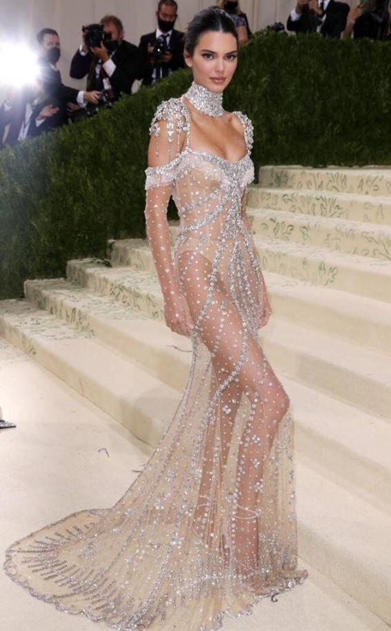 Kendall Jenner no Met Gala 2021.
