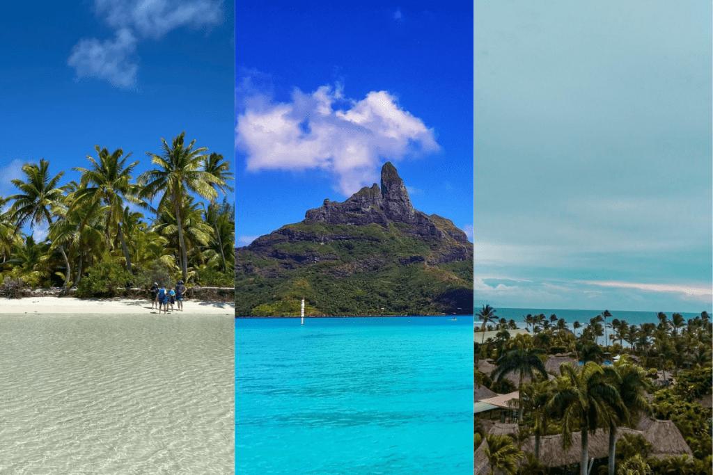 Conheça 5 ilhas paradisíacas da Oceania.