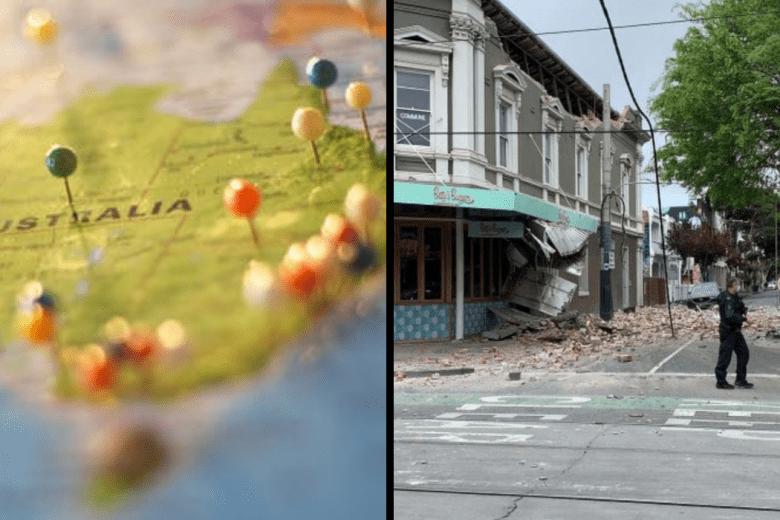 austrália terremoto