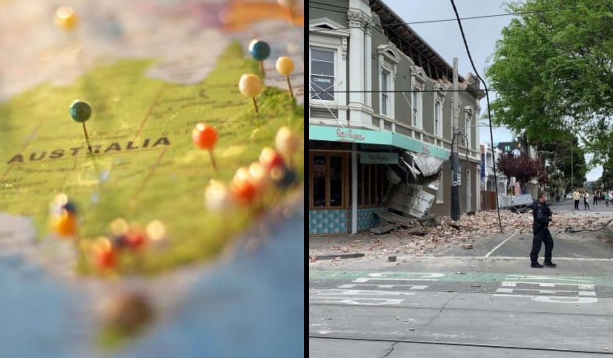 Terremoto na Austrália, de magnitude 5.8, causa pânico. Veja os vídeos
