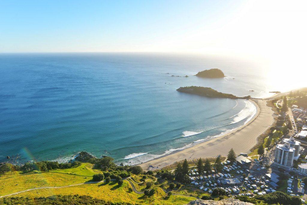 A Nova Zelândia é repleta de praias belíssimas.