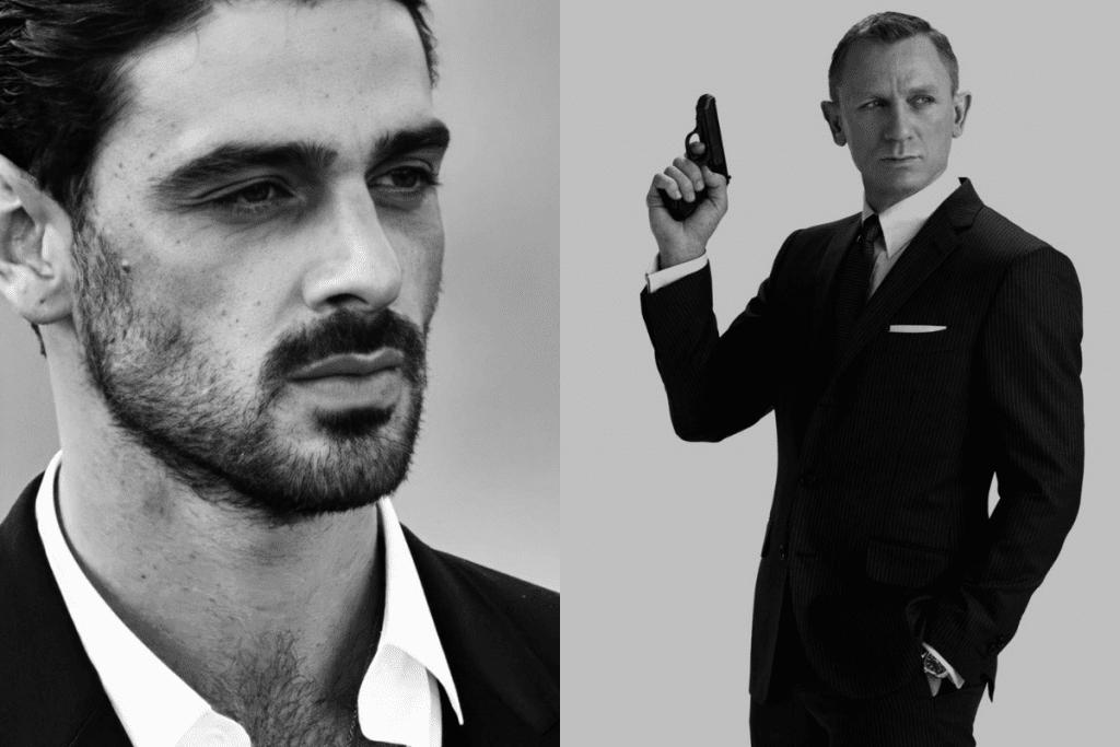 Michele Morrone é convidado para o James Bond Gala, pré-estreia do novo filme do espião.
