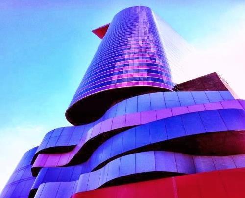 O Instituto Tomie Ohtake, um dos prédios mais memoráveis em São Paulo.