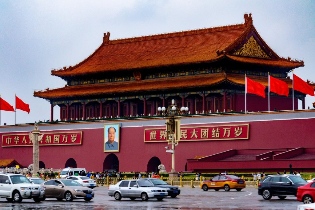 A China vem crescendo bastante sua influência nos últimos anos.