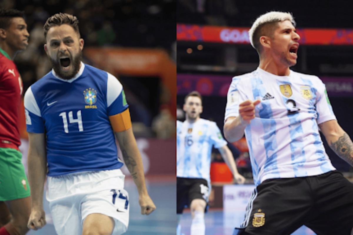 Futsal: Prévia de Brasil x Argentina pela semifinal da Copa do Mundo