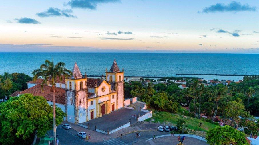 Olinda, em Pernambuco, marca um periódo da história do Brasil e da arquitetura local.