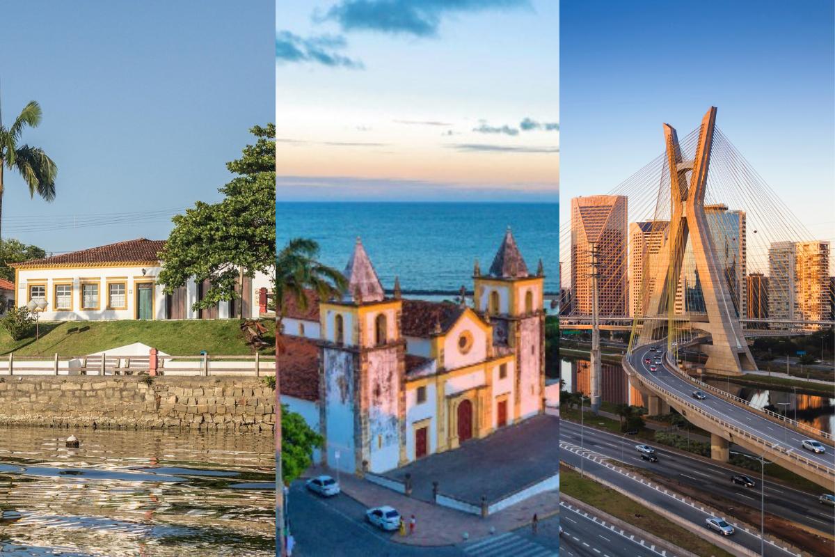 Conheça as 5 cidades mais antigas do Brasil para se visitar
