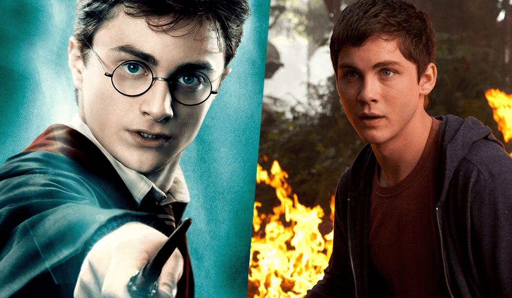 A história do jovem semideus foi acusada de plagiar Harry Potter.