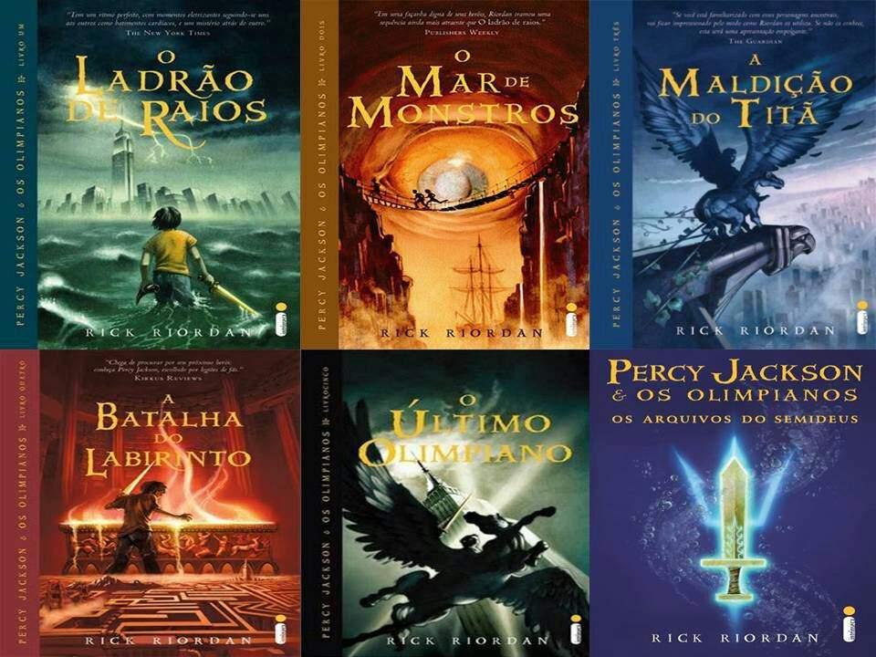 Os livros da saga Percy Jackson foram publicados após a insistência do filho do autor.