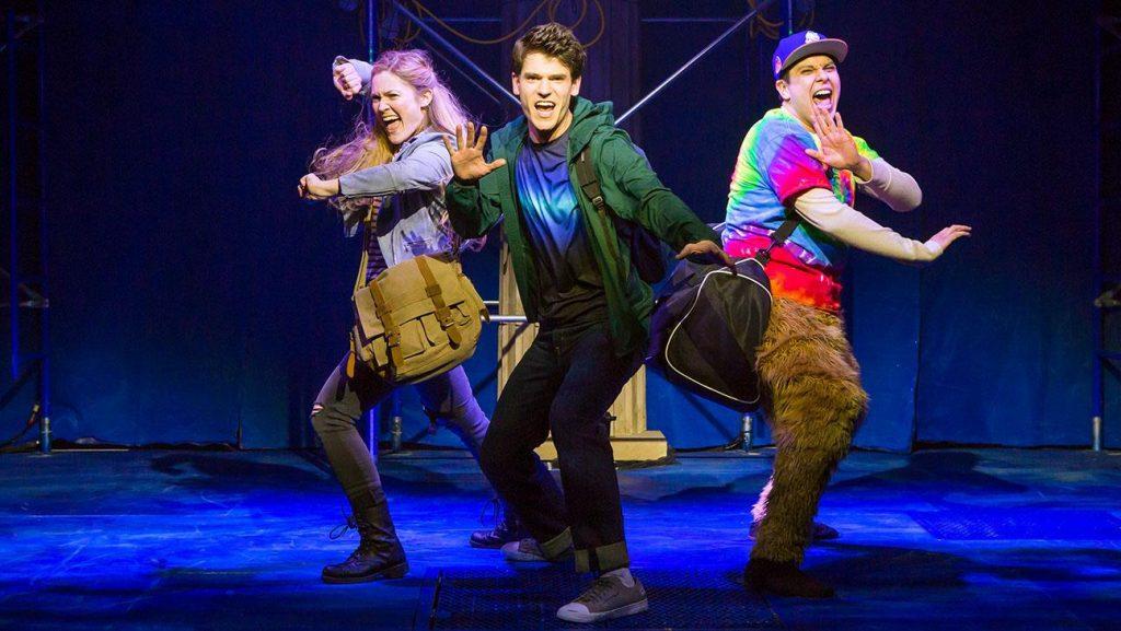 A saga de Percy Jackson ganhou um musical.