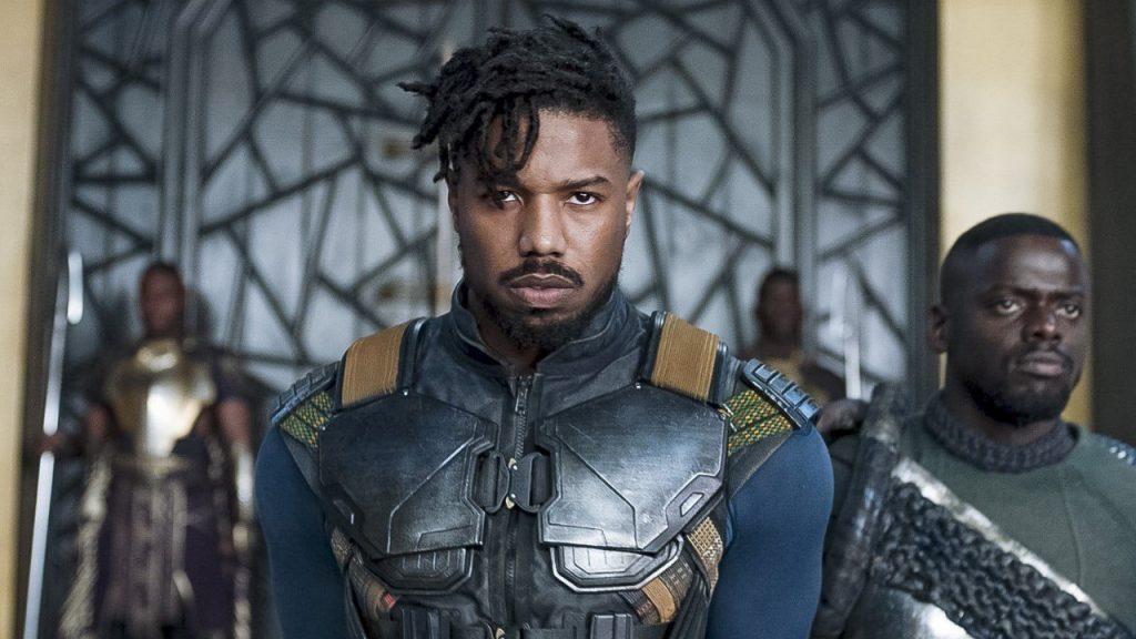 O filme Pantera Negra elevou a carreira de Michael B. Jordan.