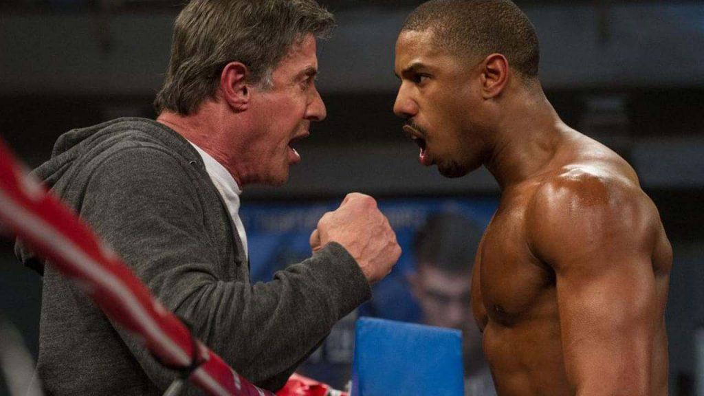 Creed é um spin-off da saga Rocky.