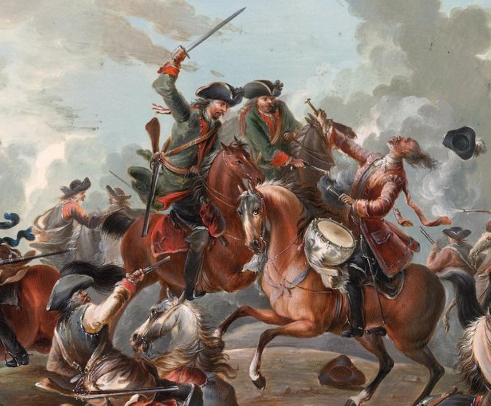 Atos da cavalaria da época.