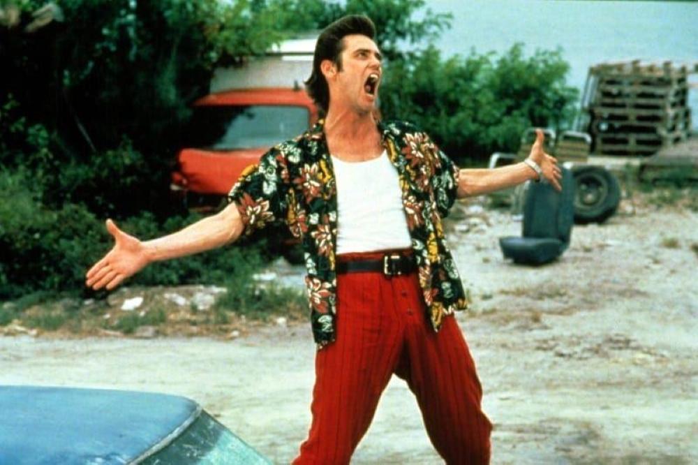 Filme Ace Ventura - Um Detetive Diferente, de 1994.