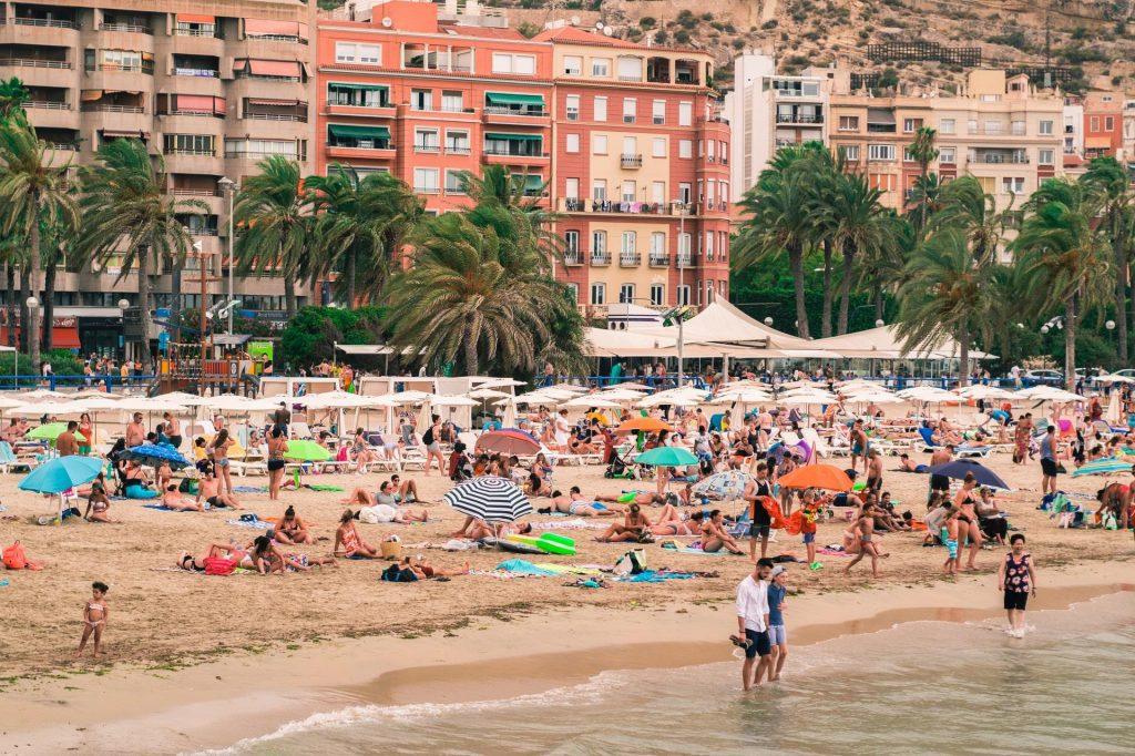 Alicante, um dos balneários mais conhecidos da Espanha.