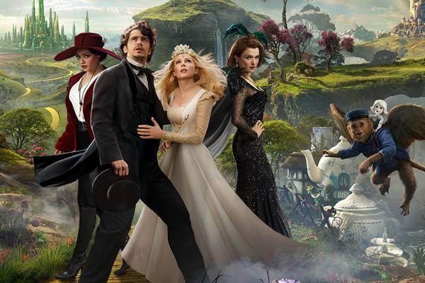 Oz - Mágico e Poderoso é um filme que, assim como Harry Potter, é repleto de aventuras e bruxas boas e más.