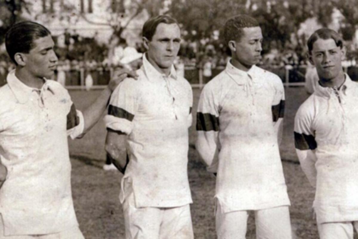 Conheça a primeira seleção brasileira na história do País