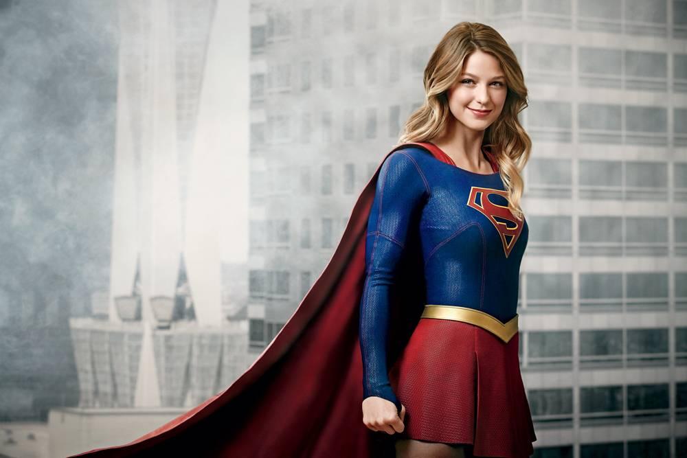 Supergirl, uma série de super-heróis.
