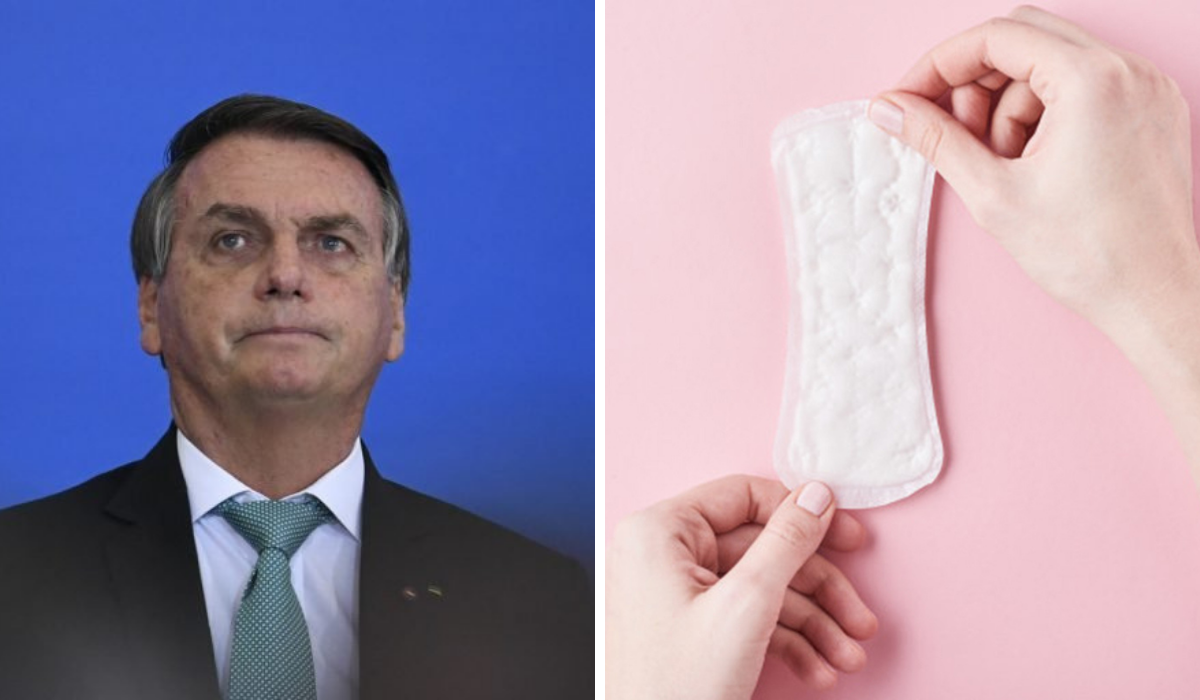 Bolsonaro e o veto dos absorventes. Entenda o caso e a fala de artistas