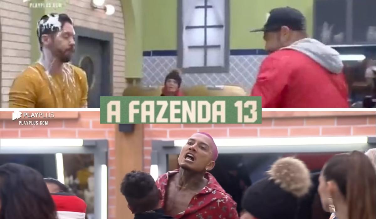 A Fazenda 13: internautas pedem a expulsão de Dynho e Victor