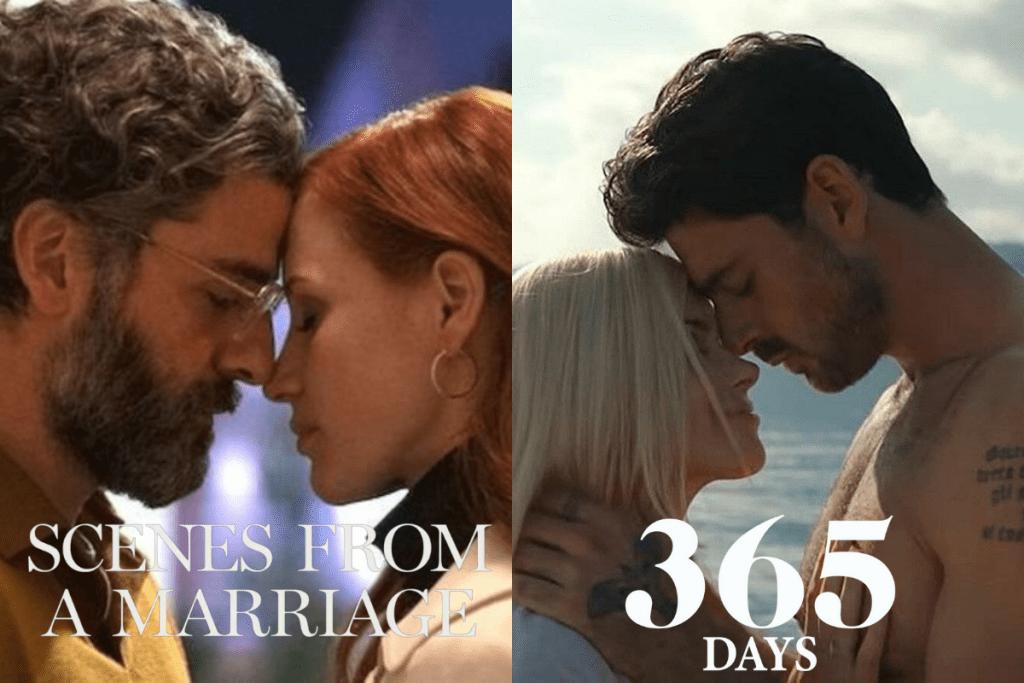 A minissérie Scenes from a Marriage, da HBO, possui cenas dignas de 365 Dni.