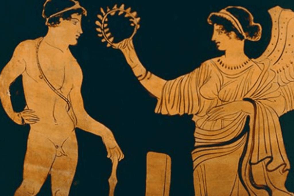 As Olimpíadas na Grécia foram suspensas após invasão Romana.