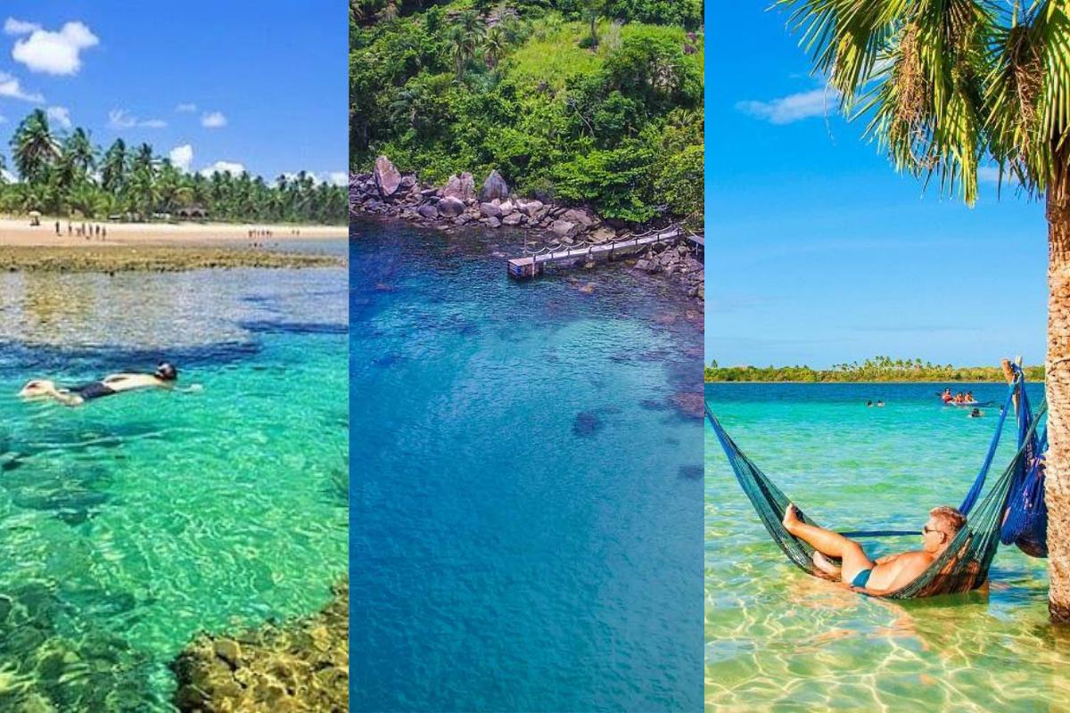 Conheça as 5 cidades brasileiras com as praias mais bonitas