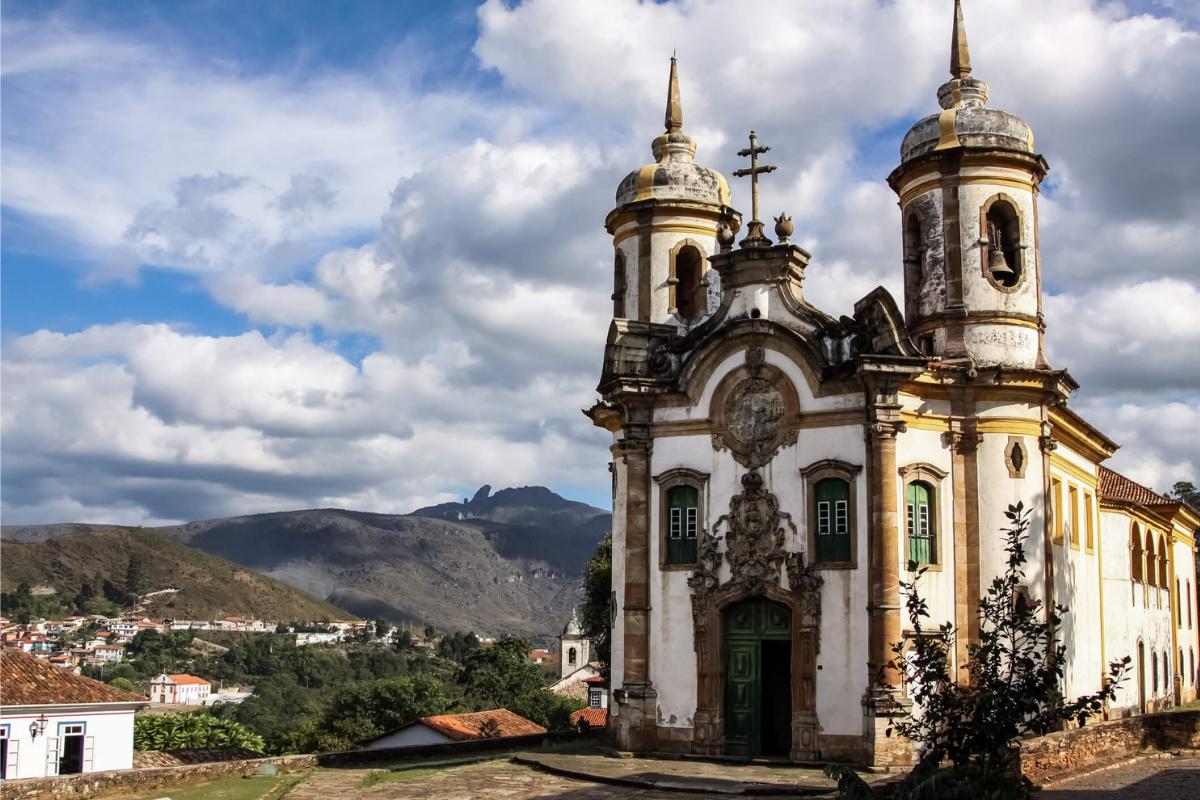 5 cidades brasileiras que refletem o período Barroco