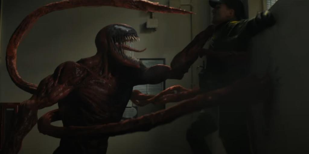 Carnificina, vilão interpretado por Woody Harrelson.