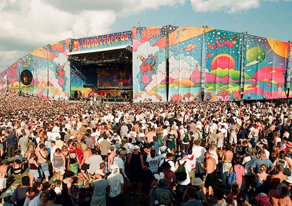 O Woodstock 99 não teve o mesmo apelo e marco da primeira edição do festival de música.