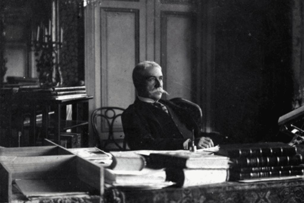 Joaquim Nabuco, grande líder abolicionista brasileiro.